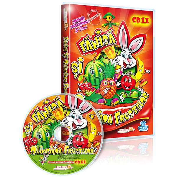 EduTeca CD11: Fănică și Olimpiada Fructelor