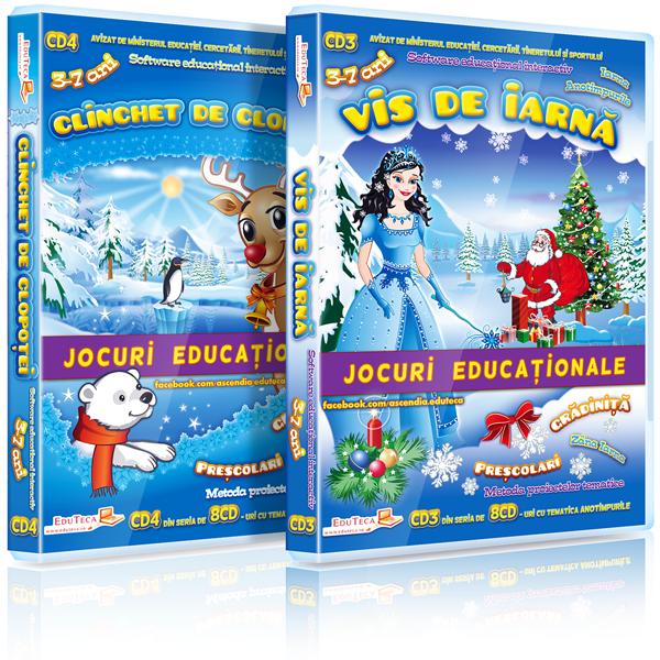 EduTeca – Iarna – CD3 + CD4