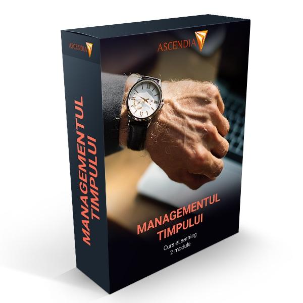 Managementul Timpului (curs eLearning, 2 module incluse)